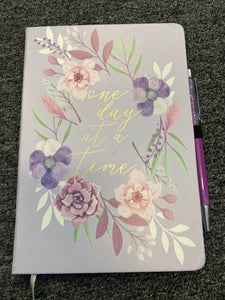 One Day at A Time Journal with Pen