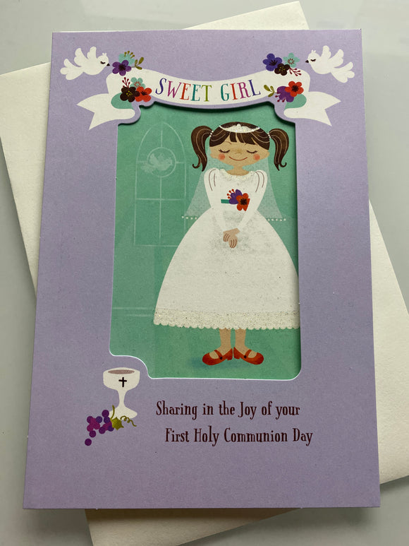 First Communion: Sweet Girl