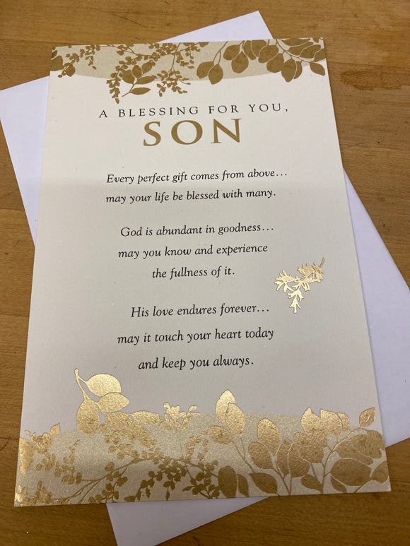 Birthday: Son