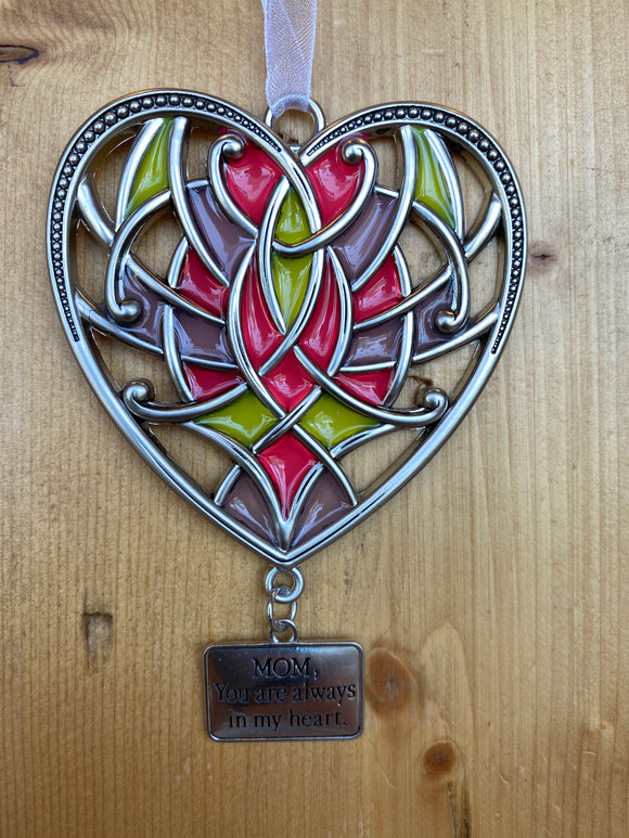 Stained Glass: Mom, you are always in my heart