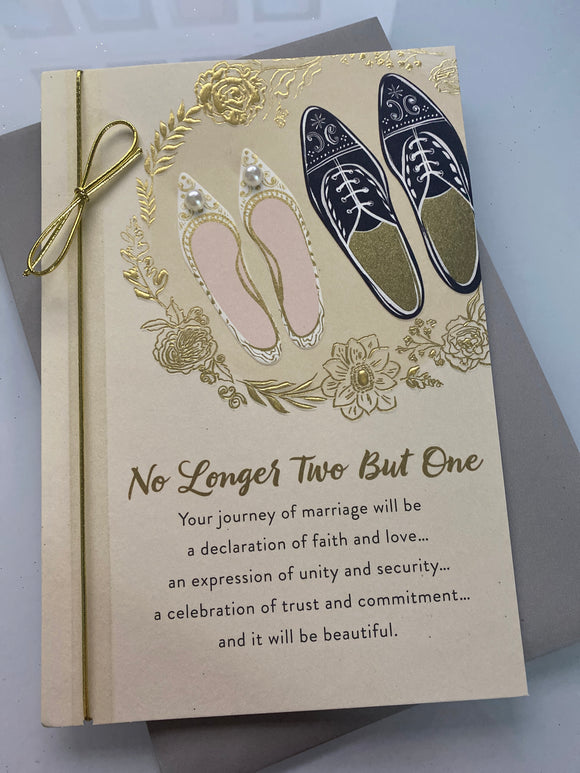 Wedding: No Longer Two but One