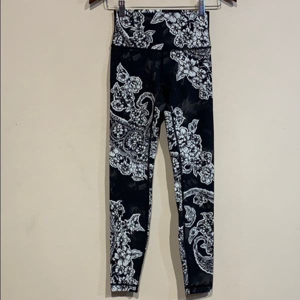 Lululemon Wunder Under Hi-Rise Painted Paisley 4