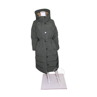 Moncler Neba Giubbotto Long Down Parka Olive Green