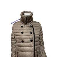 Moncler Double Breasted Long Down Puffer Jacket
