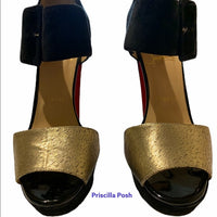 Christian Louboutin Haute Retenue black sandal