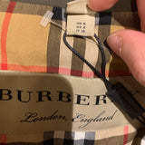 NWT BURBERRY Collegiate Stripe Gabardine Coat