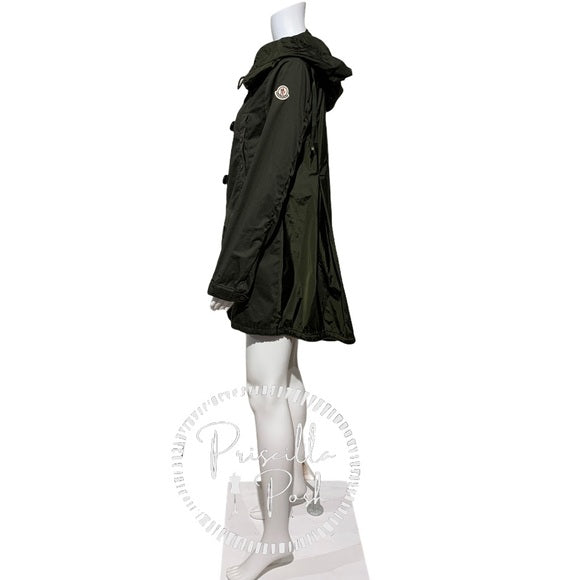Moncler Argile Giubbotto Hooded Mixed Media Parka
