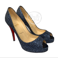 Christian Louboutin Glitter Very Prive 120 Pumps
