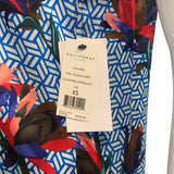 NWT Equipment Silk Dian Dress in Brilliant Blue