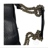 GUCCI Soho Leather Shoulder Bag 308982 Gold Chain