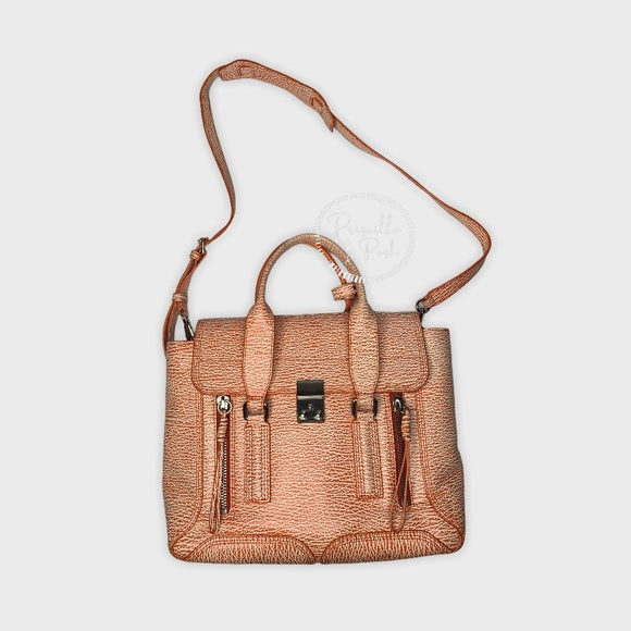 3.1 Phillip Lim Pashli Orange Leather Satchel