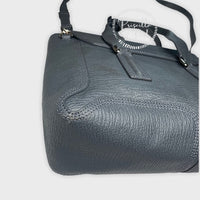 3.1 Phillip Large Grey Leather Silver Pashli Tote