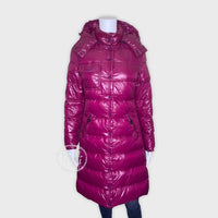 Moncler Full Length Glossy Down Puffer Jacket