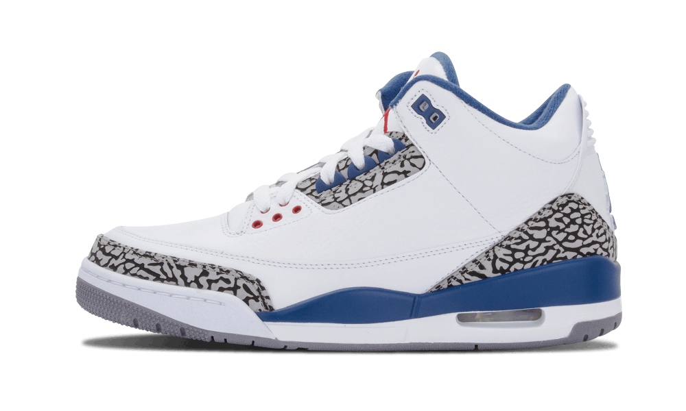 "Air Jordan 3 Retro ""True Blue"" 2011"