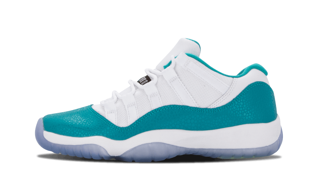 "Air Jordan 11 Retro Low Girls ""Turbo Green"" PS"
