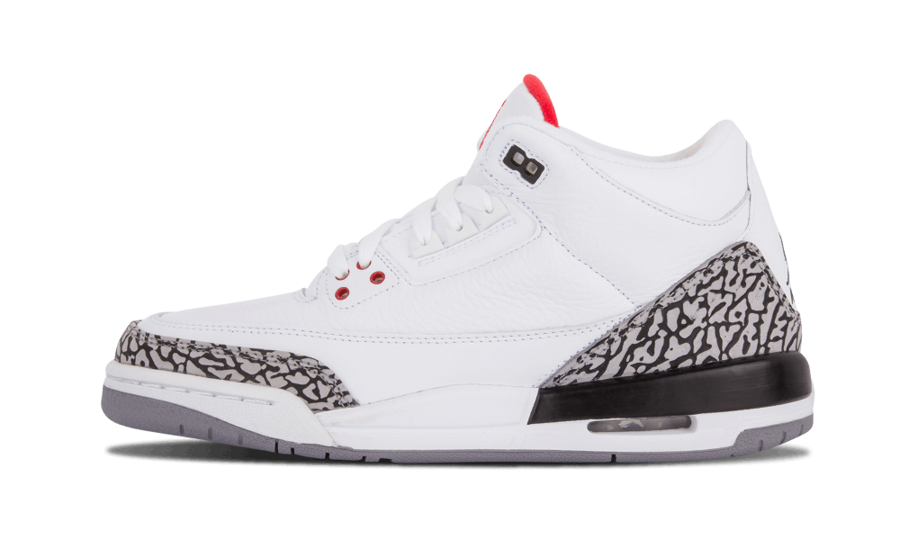 "Air Jordan 3 Retro ""White Cement"""