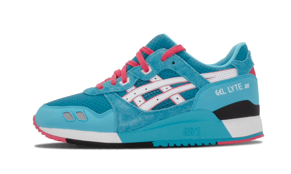 "Asics Gel Lyte 3 ""Teal Dragon"" x Bait"