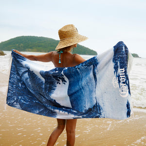 Beach Towel - From Where You'd Rather Be Print