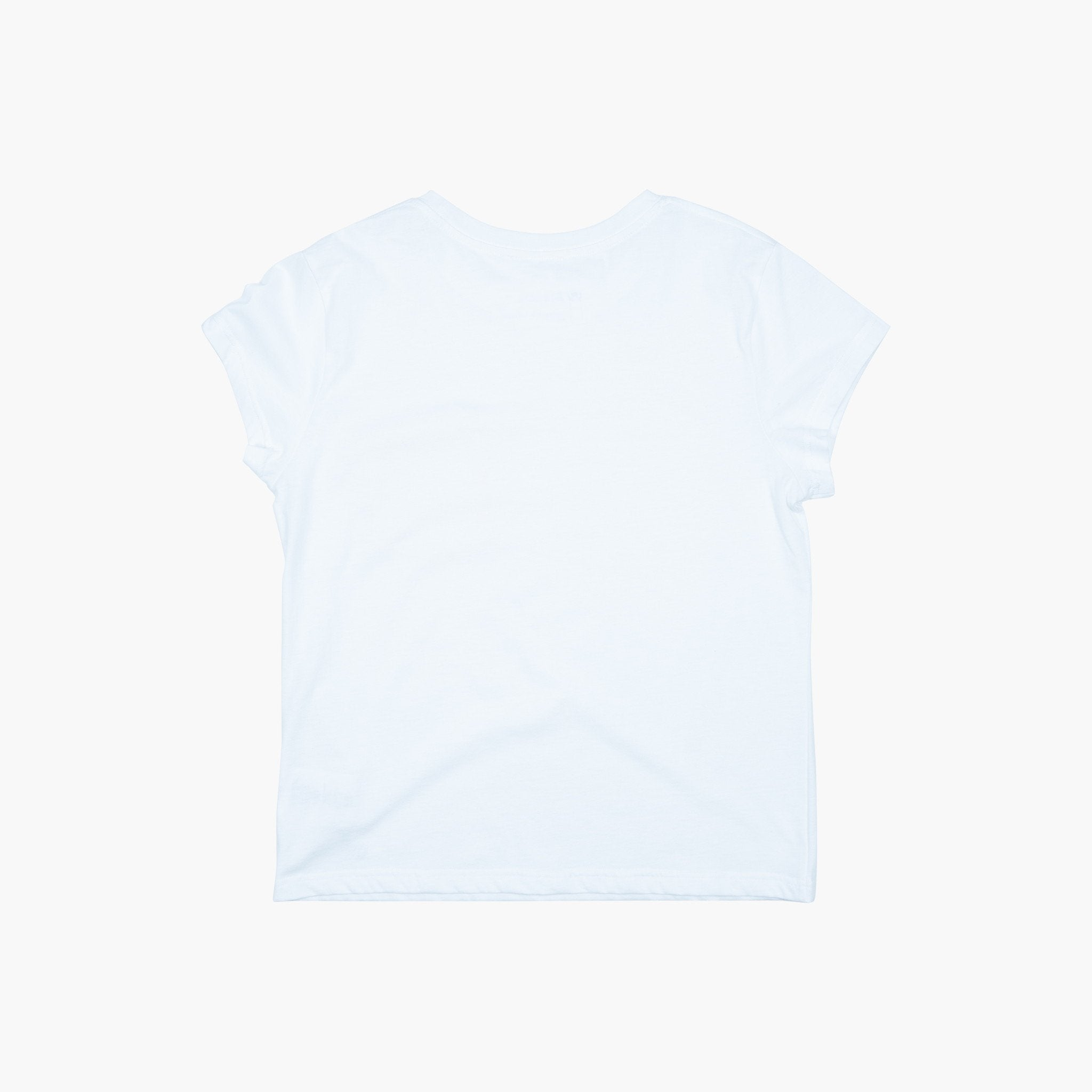 Women's Label Tee - Natural White