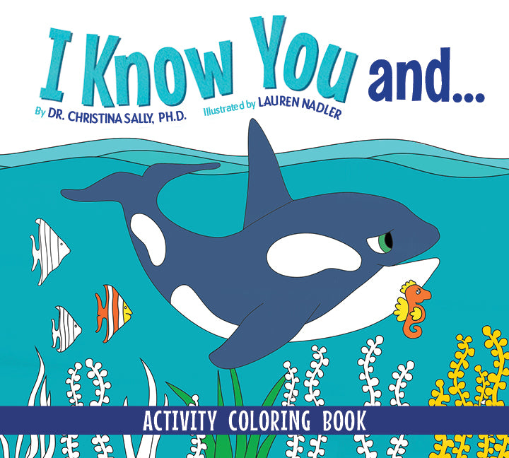 I Know You Activity Coloring book