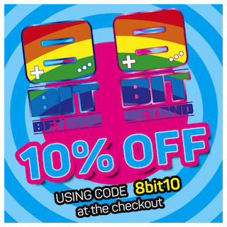 retro games 8 bit beyond 10% off using code 8bit10