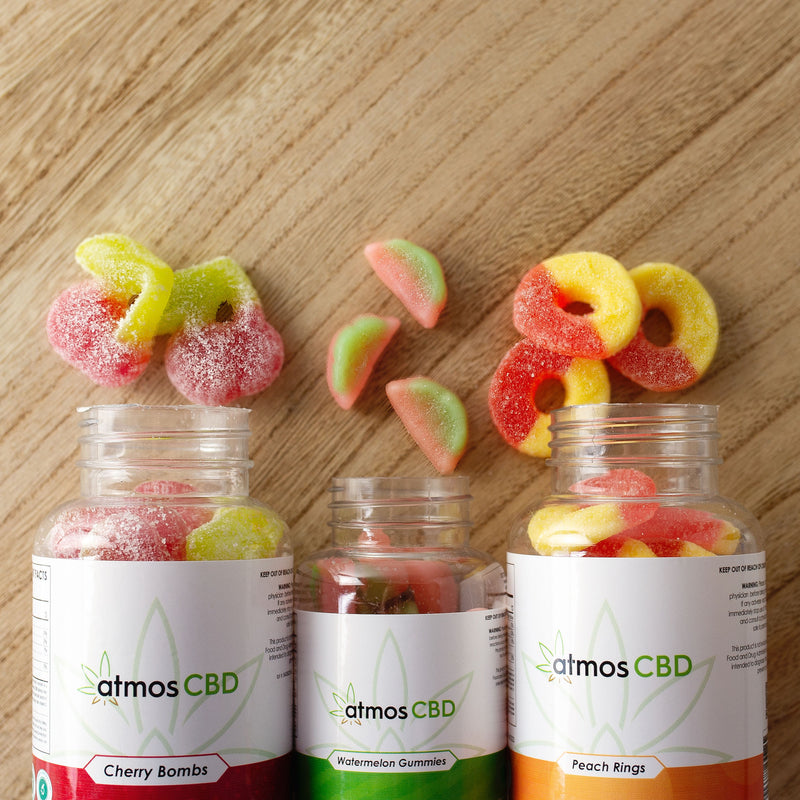 CBD Gummies - Watermelon Slices 300mg