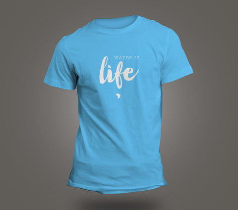 Short Sleeved T Shirt -- Water is Life