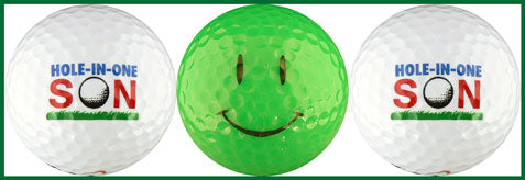 Hole-in-One son w/ Happy Face - 62