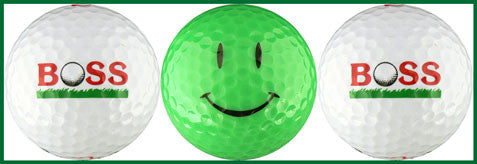 Boss w/ Green Happy Face Variety - 65