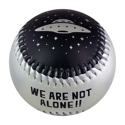 Alien & Spaceship T-Ball (Rubber Core) - B-ALEN