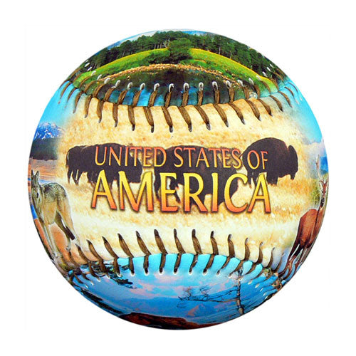 America Natural Wonders Baseball - B-AMNWH