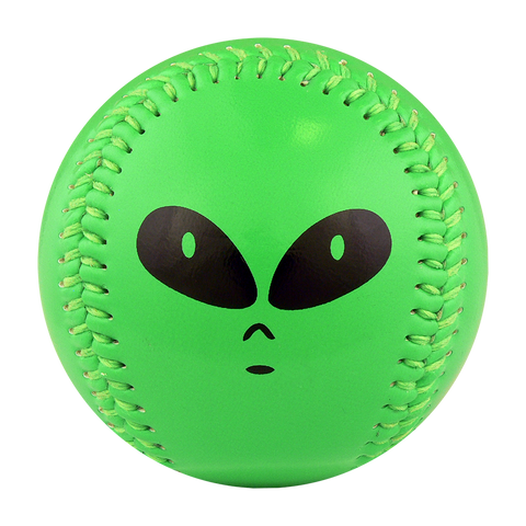 Alien Neon Green T-Ball (Rubber Core) - B-ANEG