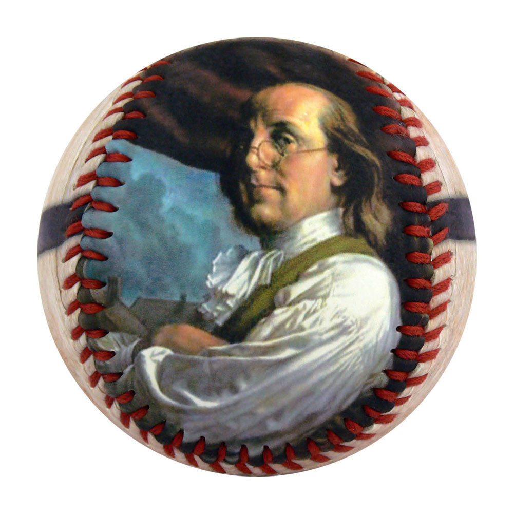 Ben Franklin Beer Lover Baseball - B-BFBRH