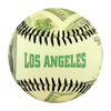 Los Angeles Ben Franklin $100 Baseball - B-BLANH