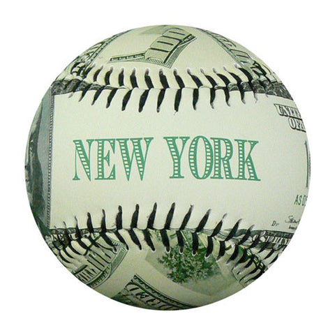 New York Ben Franklin $100 Baseball - B-BNNYH