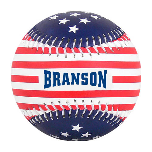 Branson Stars & Stripes T-Ball (Rubber Core) - B-BRAN