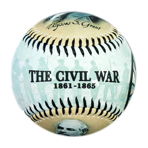 Civil War w/ Grant & Lee Baseball - B-CVLWH