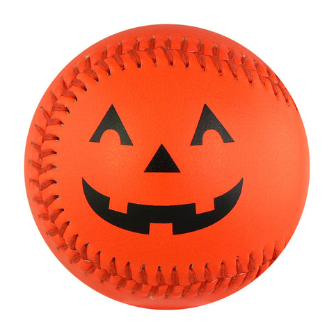 Halloween Pumpkin T-Ball (Rubber Center) - B-HLWN