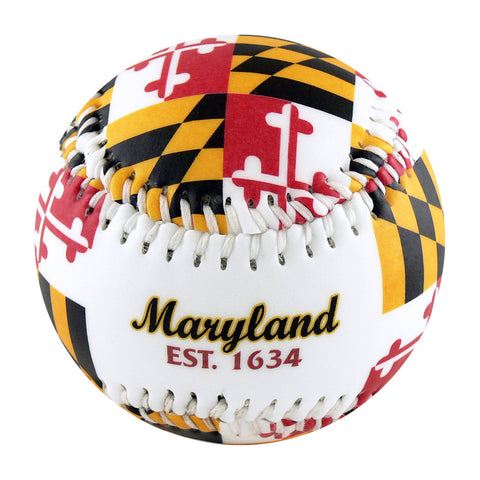 Maryland Flag Baseball - B-MDFLH