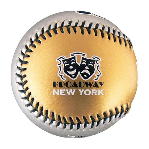 New York Broadway T-Ball (Rubber Core) - B-NBWY