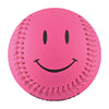 Pink Smiley Face T-Ball (Rubber Core) - B-PSML