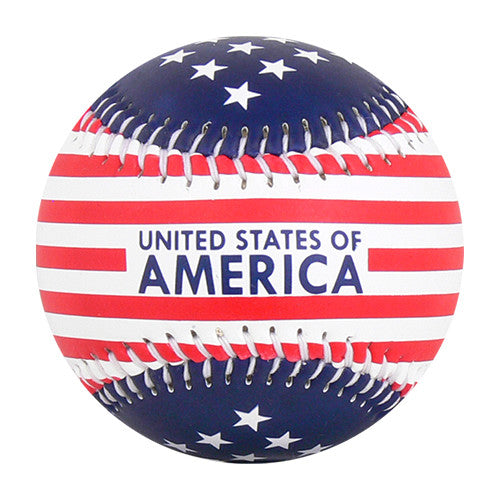 USA Stars & Stripes Baseball - B-STRSH