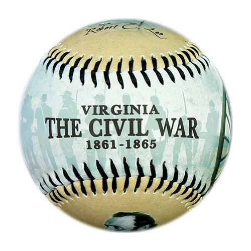 Virginia Civil War Baseball - B-VACWH