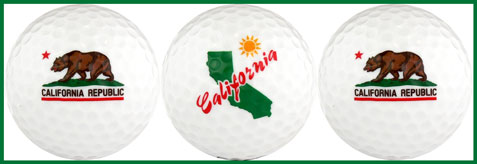 California Flag w/ Map - CAFM