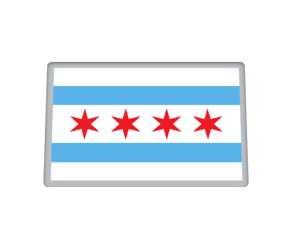 Chicago Flag - D-CHFL