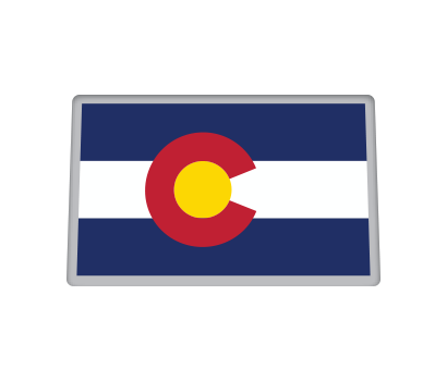 Colorado Flag - D-COLO