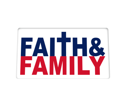 Faith & Family w/ Patriotic Colors - D-FAFA