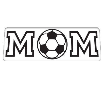 Mom w/ Soccer Ball - D-MMSC