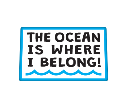 The Ocean Is Where I Belong! - D-TOWB