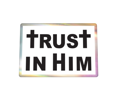 Trust In Him 1 White Base - D-TRHM